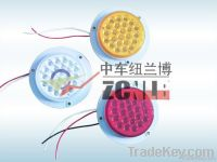 LED Circle Truck Tail Lamp with Welding Install Base