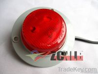 Circle LED Sider Marker Trailer Lamp