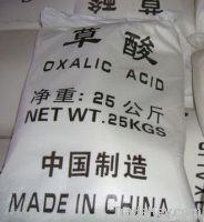 Oxalic acid 99.6% from factory