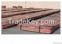 Factury and high purity copper cathode