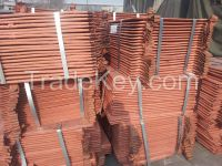 Electrolytic Copper Cathodes 99.99%