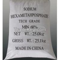 Water Treatment, Chemicals, 68%,Sodium Hexametaphosphate(SHMP) cas 10124-56-8