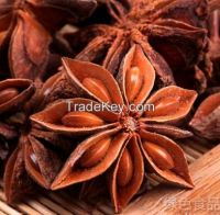 Cooking Spice Dry Whole Selected Star Anise for five spices powder