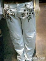 Ladies Pents | Embroidered Womens Pant | Stylish Pants
