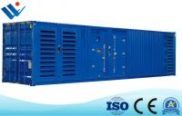 1485kw 1865kVA Container Silent Diesel Generators Powered by Yuchai
