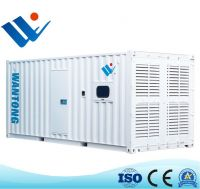 6 Cylinders Water-Cooled 1500rpm 1000kVA Diesel Generator for Silent R