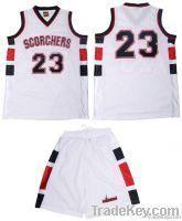 Professional Basketball Uniform