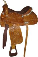 Horse Western saddle Tack- Handcrafted Indian saddle
