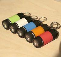 mini LED flashlight keychain light USB light