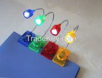 LED Clip on adjustable Book Reading Light Table Lamp