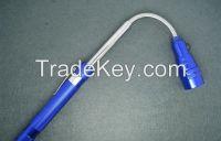 Telescopic Flexible 3 LED Flashlight Magnetic Pick Up Tool