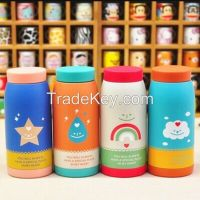 cantoon  vacuum cup stainless steel vacuum cup children water cup bottle gift