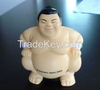 Promotional customized PU Sumo stress ball, Sumo Shaped stress reliever