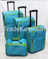 4 PCS travel trolley case fashion trolley case cheap trolley case from China