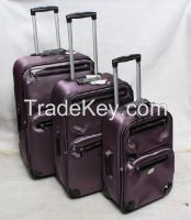 stock Business Fashion Fabric Trolley Case Luggage Sets