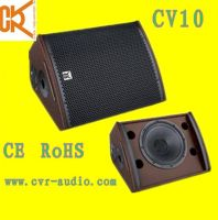 stage monitor 10 inch coaxial PA speaker