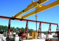 double beam overhead crane LH
