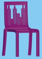 Polycarbonate Stackable Chair