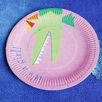 disposable paper plate