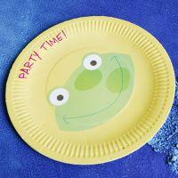 custom design paper plate