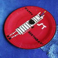 custom design party paper plate