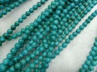 4mm/6mm/8mm/10mm/natural turquoie round beads/gemstone beadswholesales