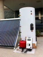 split pressurized heat pipe vacuum tube solar collector