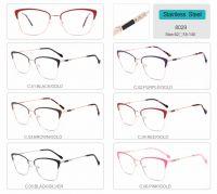 wholesale stainless steel optical frames eyeglasses high quality eyewear 8029