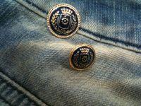 Alloy Uniform Buttons