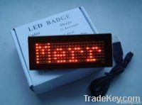 LED mini display LED badge