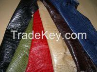 Genuine Nile Crocodile Skin Leather