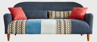 Color blocking fabric sofa (Bohemian style)