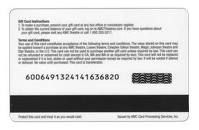 magnetic stripe card,giftcard