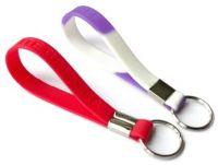 Wholesale fashion bracelet silicone wristband keychain