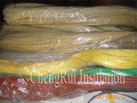 Insulation silicone rubber fiberglass sleeving