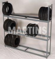 3 Tier Tire Shelving