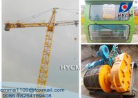 TC3508 Mini Tower Crane 35m Boom 2.5t Load Parameter