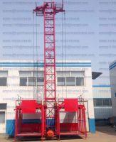 SS100/100 Small Material Building Hoist 1tons Single Car Manufacturer Price