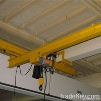 Electric Single Beam Hanging Overhead Travelling Crane