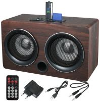 MINI USB WOODEN SPEAKER PLAYER WITH SD CARD/MMC(UD-02)