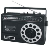 USB RADIO CASSETTE RECORDER PLAYER (PS-93US)