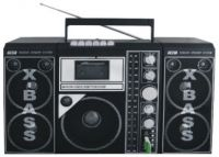 USB RADIO CASSETTE RECORDER PLAYER (AY-9818US)