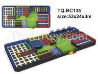 Safety  adult commercial big children indoor trampoline park