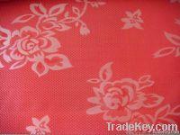 xinhua red jacquard mattress fabric