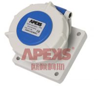 63a/125a Industrial Socket-Straight