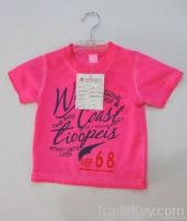 boys T-shirts kids garment children wear baby clothing summer
