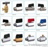mini brass ball valve