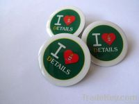Round Offset Promotional Badge