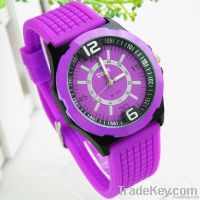 Silicone Sapphire Rubber Watch