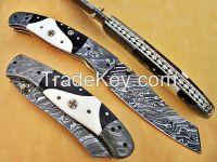 Custom Handmade Liner Lock Folding Knife